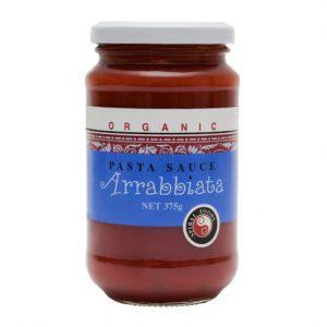 Organic Pasta-Sauce-Arrabbiata - Bundeena Organics