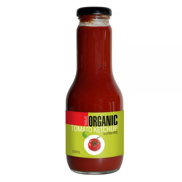 Spiral Organic Tomato Ketchup - Bundeena Organics