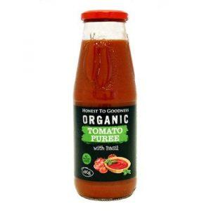 Organic Tomato Puree with Basil - Bundeena Organics