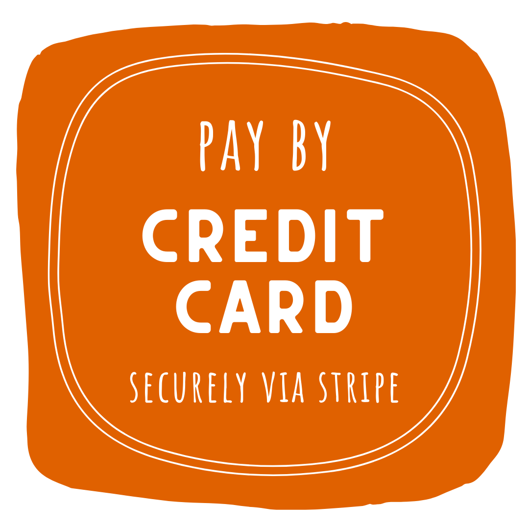 Pay by Credit Card at Checkout - Securely via STRIPE - Bundeena Organics