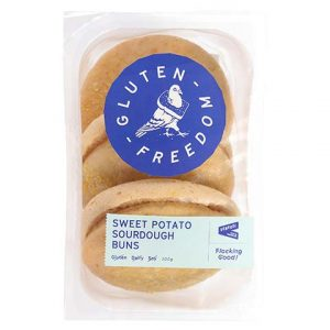 Sweet Potato Sourdough Buns - Gluten Free - Bundeena Organics