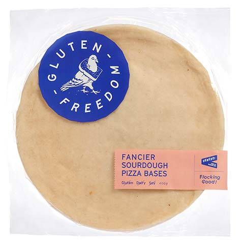 Fancier Sourdough Pizza Base - Gluten Free - Bundeena Organics