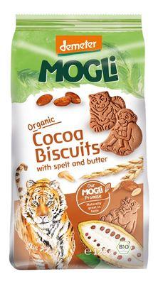 Mogli Organic Spelt Biscuits - Cocoa - Bundeena Organics