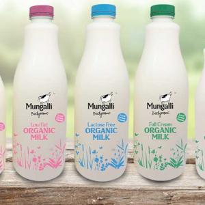 New miBiodynamic Dairy Milk - Mungalli Biodynamic - Bundeena Organicslk Bottles Mungalli Biodynamic