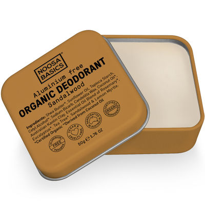 Noosa Basics Deodorant Tin - Sandalwood 50g