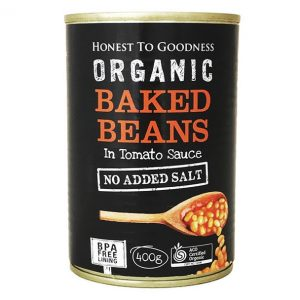 Organic Baked Beans - Bundeena Organics