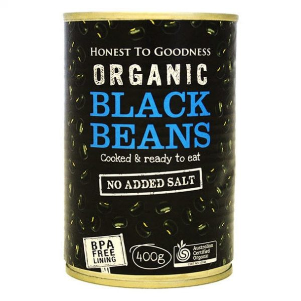 Organic Black Beans - Bundeena Organics
