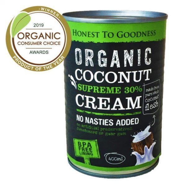 Organic Coconut Cream SUpreme 30% - Bundeena Organics