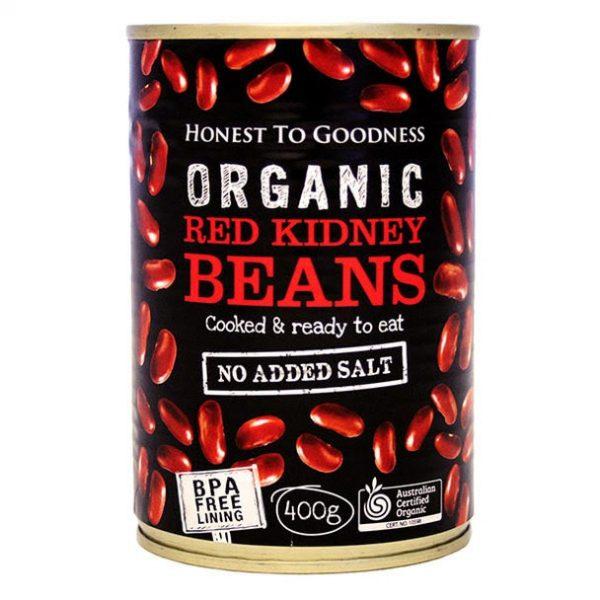 Organic Red Kidney Beans - Bundeena Organics