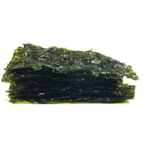 Organic Roasted Seaweed Snack - Sea Salt - Bundeena Organics