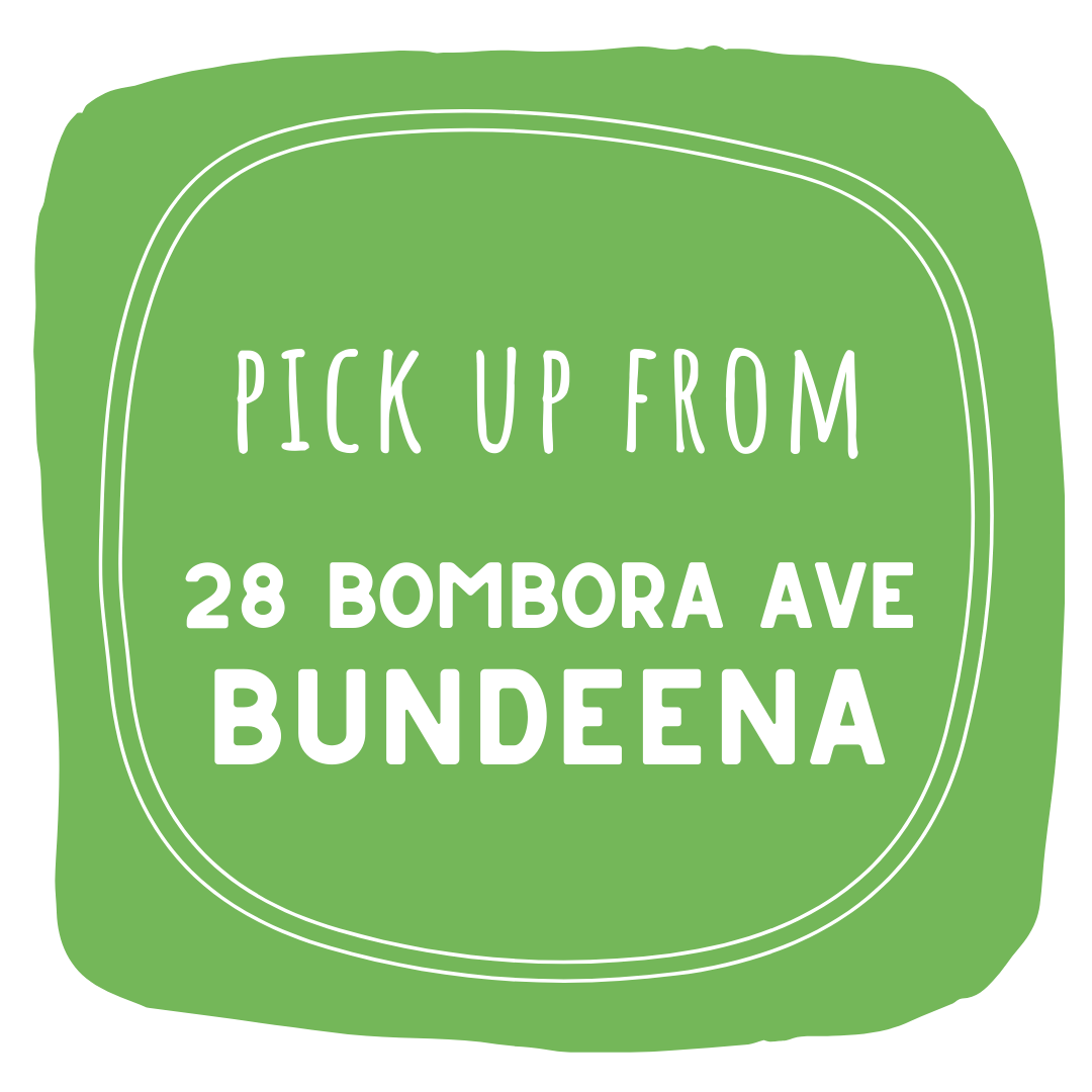 Pick Up Address - Bundeena Organics