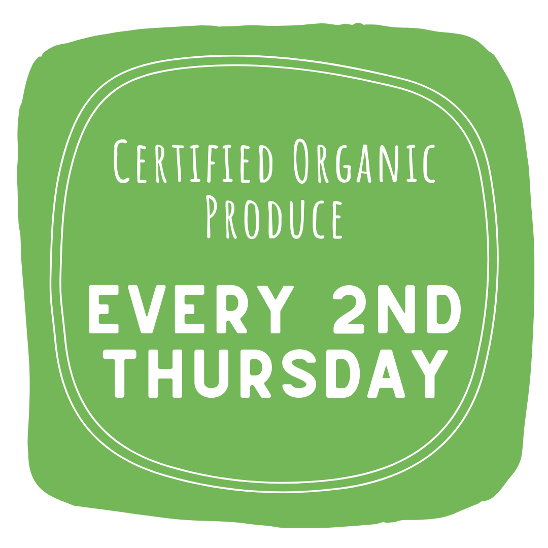 Certified Organic Produce - Delivered to Bundeena Every 2nd Thursday
