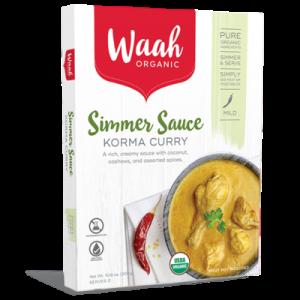 Organic Simmer Sauce - Korma Curry - Bundeena Organics