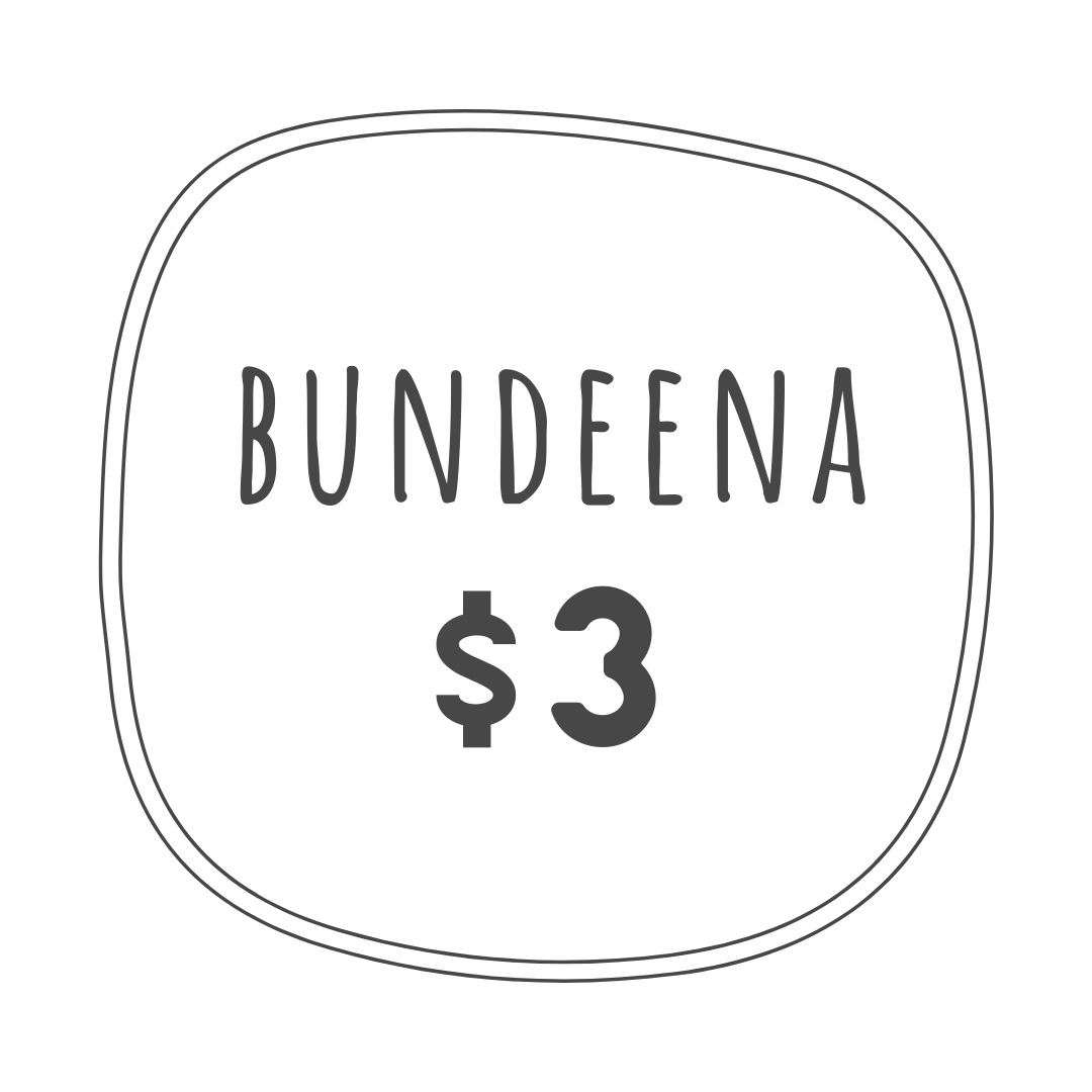 $3 delivery fee within Bundeena