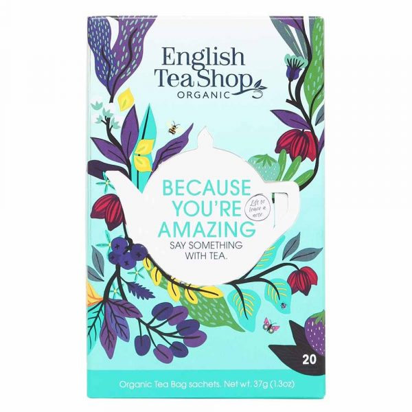 English Tea Shop Assorted Tea - Because You're Amazing 20bags