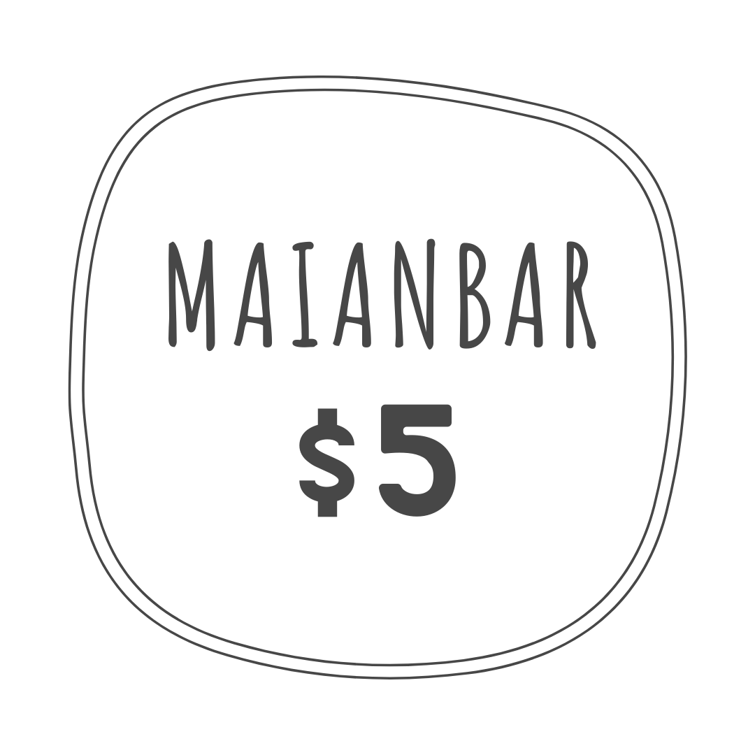 $5 delivery fee to Maianbar