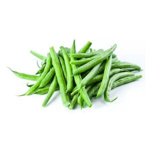 Organic Round Green Beans 500g