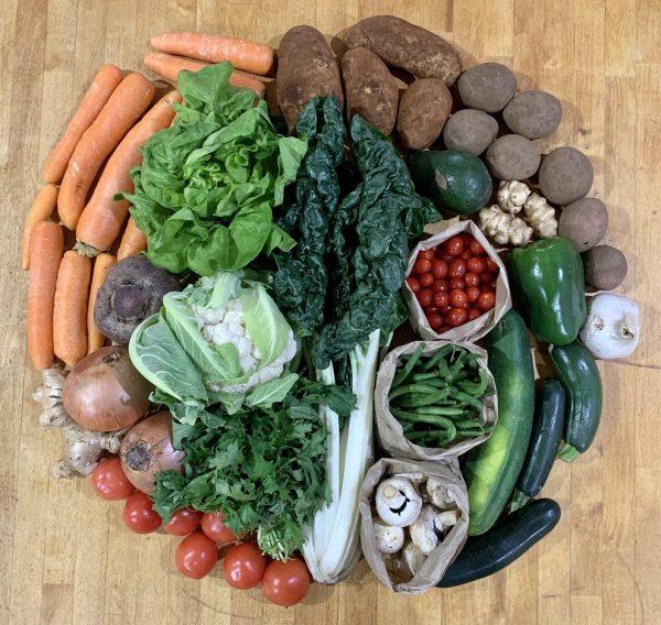 Seasonal Organic Vege Box - Bundeena Organics