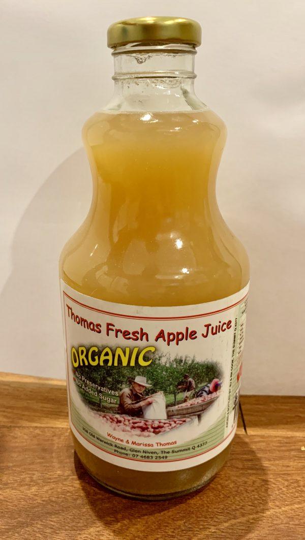 Thomas Fresh Organic Apple Juice
