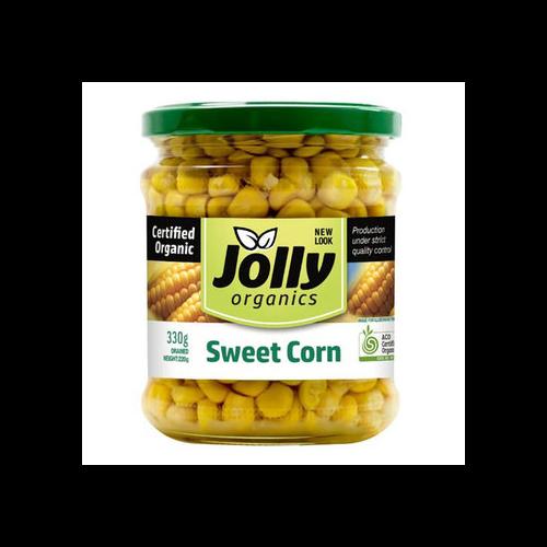 Jolly Organics Sweet Corn - Bundeena Organics