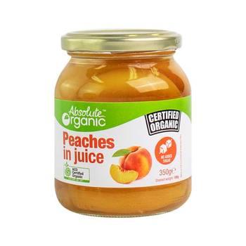 Absolute Organics Peaches - Bundeena Organics