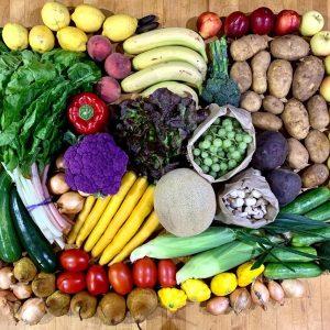Organic Mixed Fruit + Veg Box - Bundeena Organics