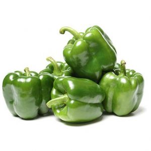 Organic Capsicum - Green - Bundeena Organics