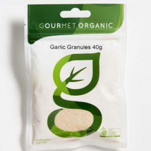 Organic Garlic Granules - Bundeena Organics