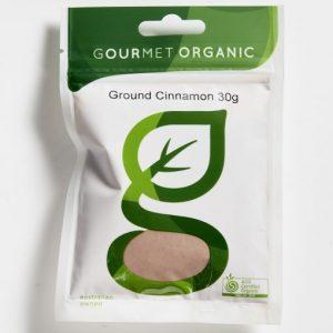 Organic Ground Cinnamon - Bundeena Organics